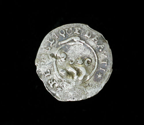 AN12 1815 Haiti 25 Centimes KM# 12.2 Silver Coin