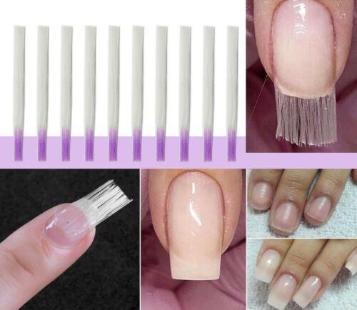 10 pcs Fiber Nail extension/ Fiberglass for Nail Extension Acrylic Nails Tips