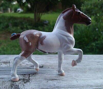 Custom Breyer Horse CM SM Stablemate Trotting Belgian Percheron Draft Drafter