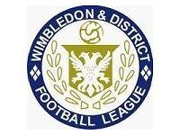 Teams required for Wimbledon & District Saturday Football League