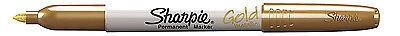 Sharpie Metallic Gold Permanent Marker Fine Pt Tip 1910044 New