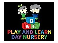 Nursery Nurse Level 2 and 3
