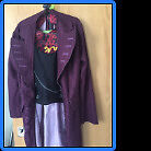 Willy Wonka child costumein Sheffield, South YorkshireGumtree - Suitable for child age of 5 to 7 years old Consists of jacket with attached waistcoat and hat Price GBP 5 Contact 07435883757