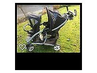 Graco Quattro Tour Duo (double pushchair) with Rain cover