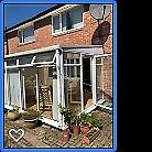 conservatory for sale approximately 3.20mx4m. height sloped 2.50 m to 2.10m