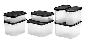 Tupperware - Modular Mates Home Start Set - Black - New - 50%off Brighton-le-sands Rockdale Area Preview