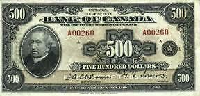 LOOKING FOR AN OLD 500$ BILL CAN BE AMERICAN OR CANADA. London Ontario image 1
