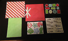 Creative Memories Candy Cane Paper Album Kit