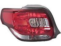 citroen DS3 rear lights