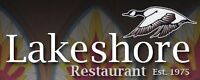 Lakeshore Restaurant- Mature Experienced Dining Room Servers