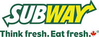 Come Join Our Team at Subway Restaurant!