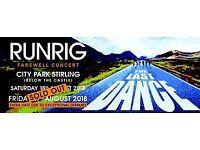 Swap x2 Runrig tickets 'The Last Dance'