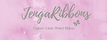 Jengaribbons (personalised ribbons)