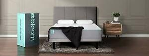 Brand New in Box Bloom Cloud  Mattress Queen Matelas Grand Lit