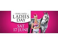Musselburgh Races Ladies Day - Saturday 17th June 2017 x 2 General Admission Tickets