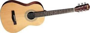 6-String Fender Acoustic with Hard Case