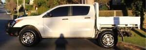 2013 Mazda BT-50 Ute 4X4 3.2 TURBO DIESEL REGO AND RWC