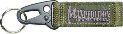 Maxpedition MX1703G Keyper OD Green Key Retention System Alloy Quick Release