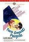 TWO SMART PEOPLE - (full) Region Free DVD - Sealed
