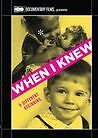 WHEN I KNEW - (full) Region Free DVD - Sealed