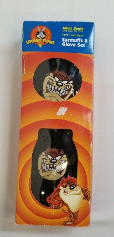 Looney Tunes Taz Earmuffs Glove Set