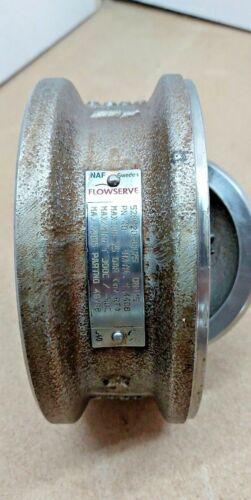 NAF Flowserve 528620-0125 wafer check valve DN125
