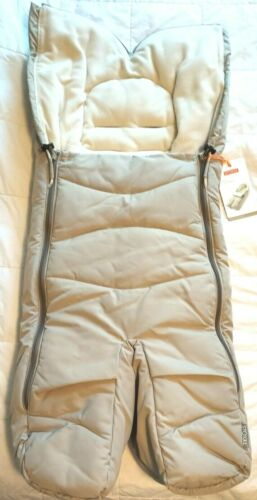 Stokke Xplory FootMuff For Stroller Use Beige - New With Tags