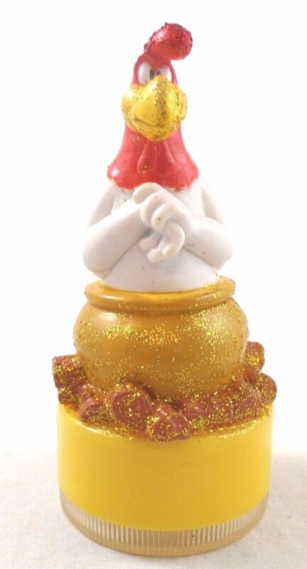 "WB PVC Foghorn Leghorn ""BOIL"" Pencil Sharpener Warner Brothers Looney Tunes Lot"