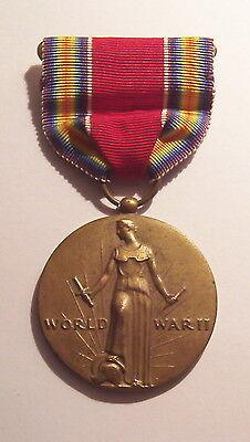 VINTAGE WW II Victory Military Medal