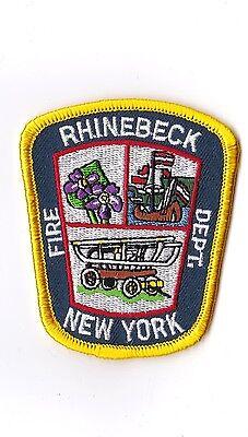 Rhinbeck Fire Dept. New York Firefighter Patch NEW!!