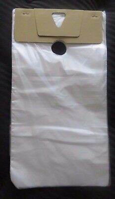 500 Plastic Bags Door Hanger Door Knob Clear 9 X 15 Big