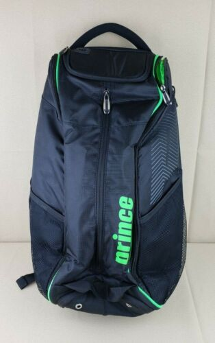 Prince 17 Tour Collection Tennis Duffle Backpack Bag Black Green *See Note*