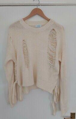 Jovonna London Designer Knit Jumper . Size 0/S