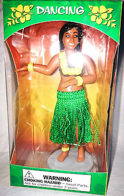 Wackelfigur Wackel Hula Girl Hawaii grün Dashboard Armaturenbrett Rockabilly Neu