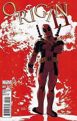 Origin II #1 Deadpool Variant Cover Wolverine Marvel Comics 2 2014 NM