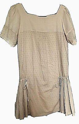 Hannes Roether 100% Cotton Lined Dress Women's Medium