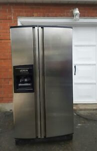 KitchenAid stainless steel refrigerator, free delivery