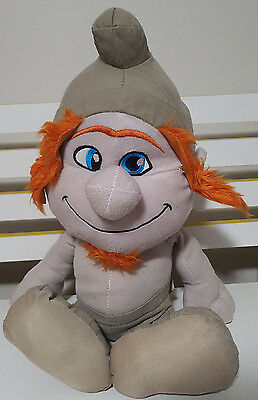 The Naughties Smurfs (THE SMURFS NAUGHTIES HACKUS PLUSH TOY! KIDS TOY ABOUT 36CM SEATED SOFT)