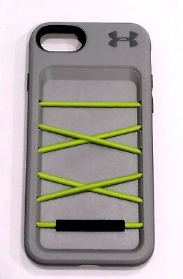 Under Armour Arsenal Series Wallet/Storage Case for iPhone 7/8 - Gray/Green