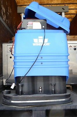 T149680 Windsor Trident Tr24 Battery Floor Scrubber 24v 46a 1.1kw