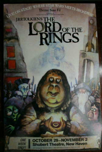 Lord Of The Rings Vintage 1980