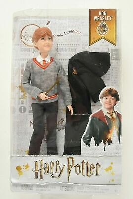 "Harry Potter Wizarding World 10"" Ron Weasley Action Figure Doll NEW Mattel"