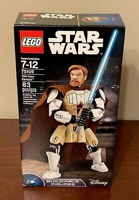 LEGO Star Wars Obi-Wan Kenobi Buildable Figure 75109, Brand New - Retired!