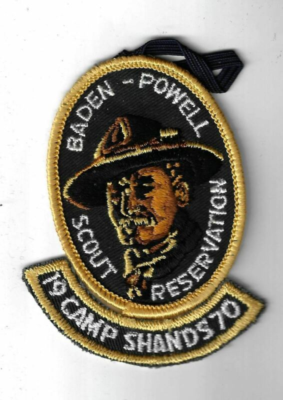 BSA 1970 Camp Shands Baden Powell Scout Reservation Patch [MX-3609]