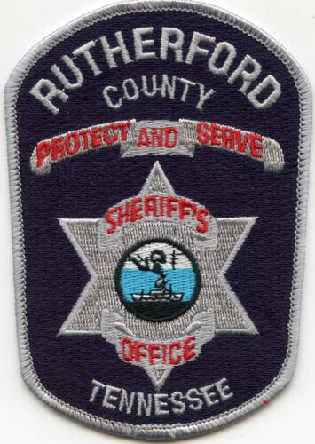 RUTHERFORD COUNTY TENNESSEE TN Protect And Serve SHERIFF POLICE PATCH