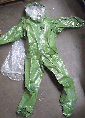 Kappler Hazmat 4t571 Suit M Cpf4 Size Total Encapsulating Suit Expanded Back