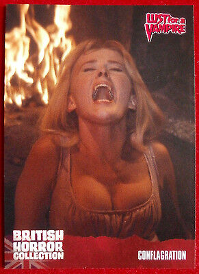 BRITISH HORROR COLLECTION - Lust for a Vampire - CONFLAGRATION - Card #72