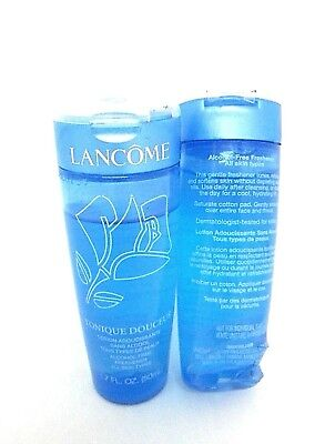 Lot/2 Lancome Tonique Douceur Alcohol Free Freshener 1.7 oz Each See Description