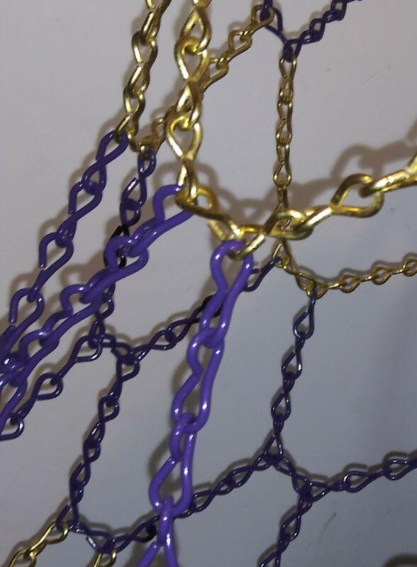 Basketball Chain Net Lakers chain net