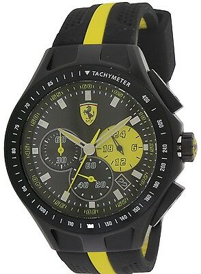 Ferrari Scuderia Race Day Chronograph Mens Watch 0830025